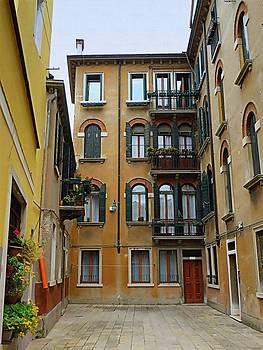 Bishopston Fine Art - Venice Courtyard