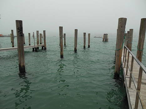 Venice Dock by Donna Jacobi