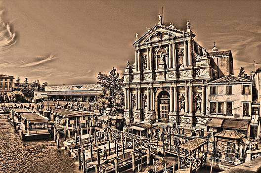 Venice Docks by Matthew Naiden