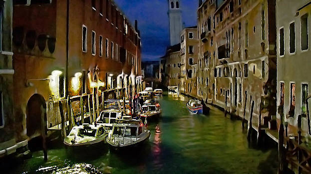 Venice Evening by Cary Shapiro