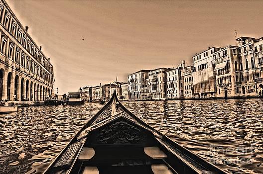 Venice Gondola POV by Matthew Naiden