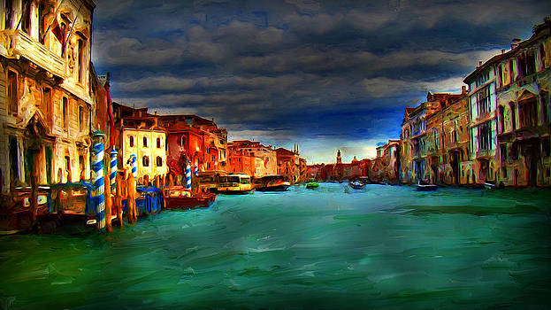 Venice Grand Canal by Cary Shapiro