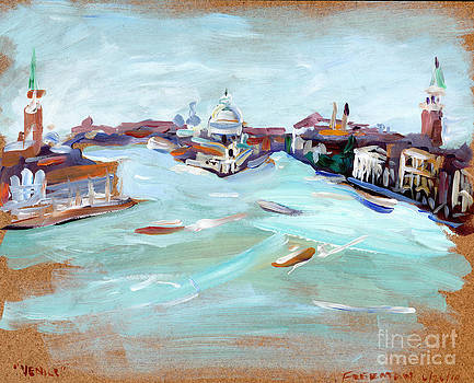 Valerie Freeman - Venice Grand Canal