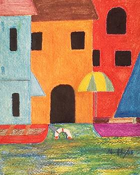 Venice in Pastel by Lew Griffin