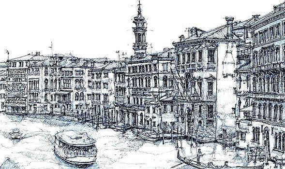 Venice ink in blue by Adendorff Design