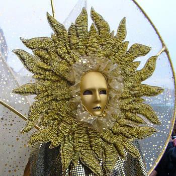 Venice Italy Carnival-The Sun by Willie Chea