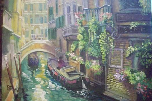 Venice -italy by Paul Weerasekera