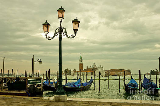 Venice Lagoon in a Moody Sunrise by Kiril Stanchev