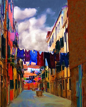 Venice Laundry by Cary Shapiro