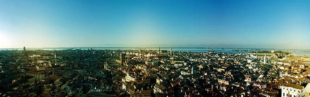 Venice Panoramic View by Cedric Darrigrand