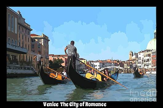 John Malone Halifax Graphic Designs - Venice The City of Romance