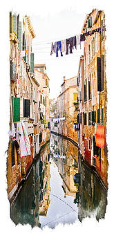 Venice Washday by Michael Fahey