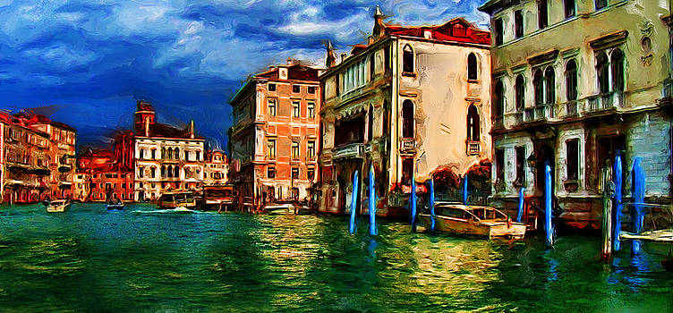 Venice Water View by Cary Shapiro
