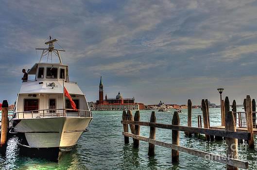 Venice's Boat by Ines Bolasini