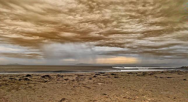 Ventura In Storm by Angela A Stanton