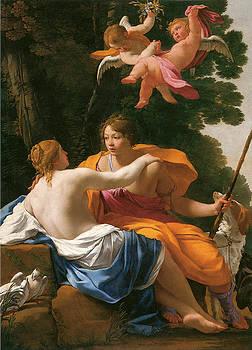 Simon Vouet - Venus and Adonis