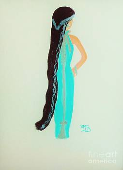 Vera in Teal by Marie Bulger