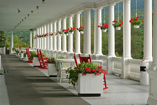 Veranda Mt Washington Hotel by Gail Maloney
