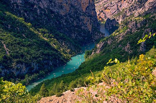 Verdon Gorge 2 by Dany Lison