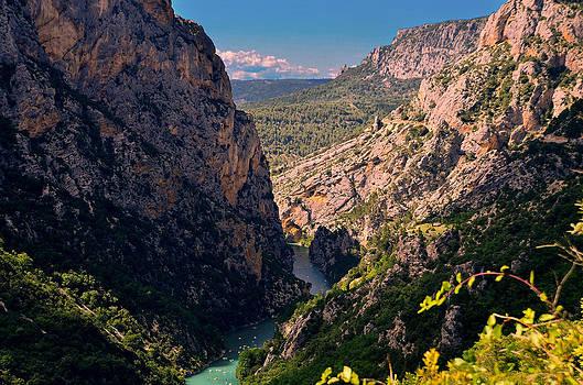 Verdon Gorge by Dany Lison