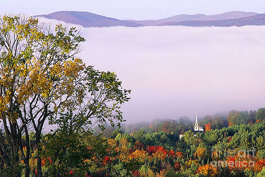 Vermont Autumn Morning by Alan L Graham
