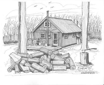 Richard Wambach - Vermont Hunter Lodge