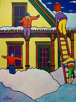 Vermont Winter Sport by Piliero by Nick Piliero