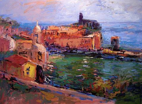 Vernazza afternoon by R W Goetting