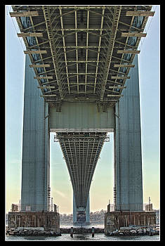 Verrazano Bridge by Boris Blyumberg
