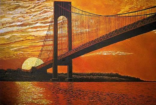 Verrazano-Narrows Bridge by Mike Rabe