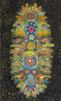 Vertical Labyrinth Chakra by Bruce Riley