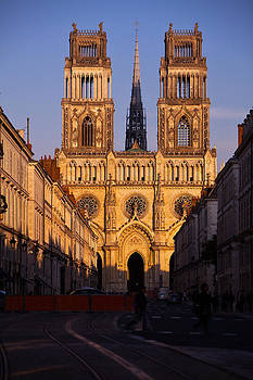 Vertical Rise of the Cathedral at Orleans by Kirk Strickland