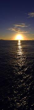 Matt Swinden - Verticle Caribbean Sunset I