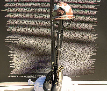 Veterans Memorial Wall Some Gave All by Making Memories Photography LLC