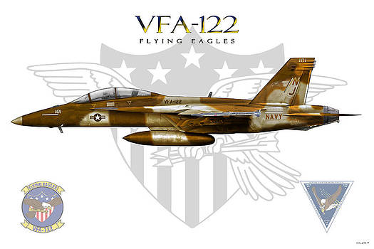 VFA-122 Foxtrot by Clay Greunke