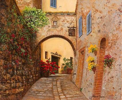 Via Manzoni by Jeanene Stein