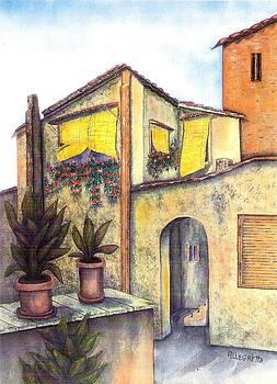 Via Roma by Pamela Allegretto