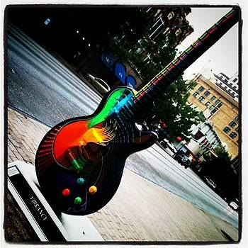 Vibrancy Gibson Guitar by Amanda Max