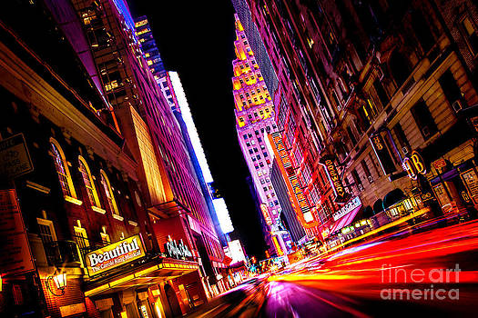 Vibrant New York City by Az Jackson