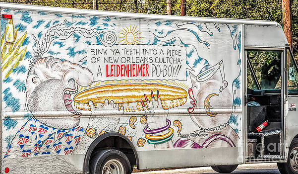 Vic and Nat'ly and the Leidenheimer Po-boy truck - New Orleans by Kathleen K Parker