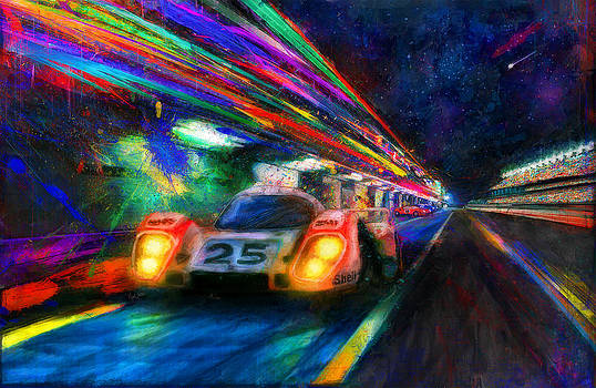 Vic's Night Out by Alan Greene