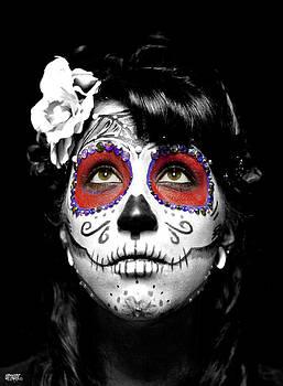 Victoria Dia De Los Muertos by Jose  Sandoval