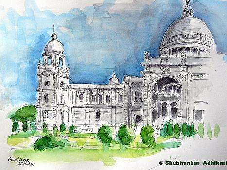 Victoria Memorial Hall - Kolkata City by Shubhankar Adhikari