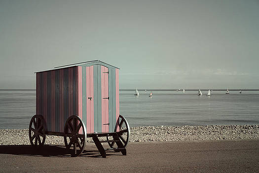 Victorian Bathing Machine by Mal Bray