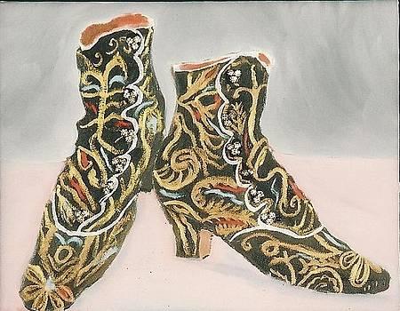 Victorian Boots by Carmela Cattuti