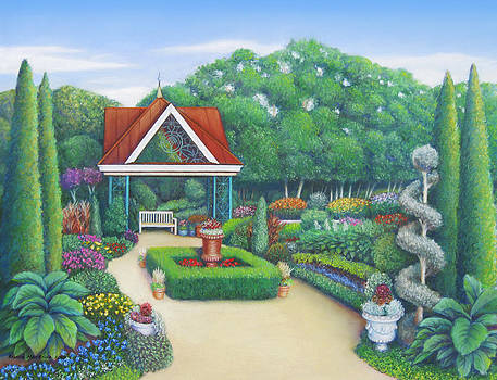 Victorian Garden by Bruce MacBride
