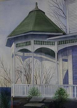 Victorian Porch by Carol Oberg Riley