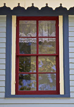 David Letts - Victorian Red Wood Window