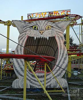 Gregory Dyer - Vienna Austria - Praterstern Park - Chesire Cat