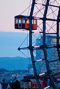 Vienna Ferris Wheel by Viacheslav Savitskiy